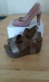 High heels & sandal