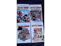 lot of beano and dandy hardback books in great condition