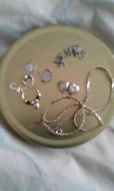 Silver/ gold jewellery