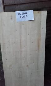 "Plywood sheets 15mm thick 27""x45"" approx, nearly new. Price reduced as have got over 100 sheets."