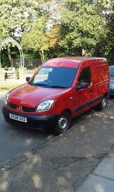 RENAULT KANGOO DIESEL NEVER USED IN CONSTRUCTION 47 K ONLY