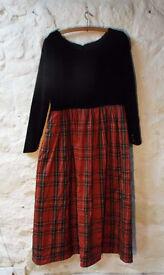 Buchanan Tartan Ball Gown size 12-14
