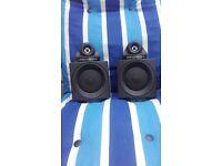 Wharfdale modus cube speakers