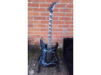 Jackson Soloist - Made in USA (1987, Lightning Sky Graphic)