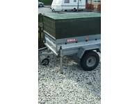 Galvanised trailer , mint condition