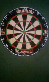 Blade5 dart board