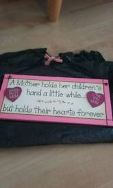 Beautiful Wooden Sign for a Mother New