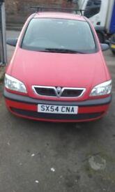 Vauxall zafira 2005 799 £