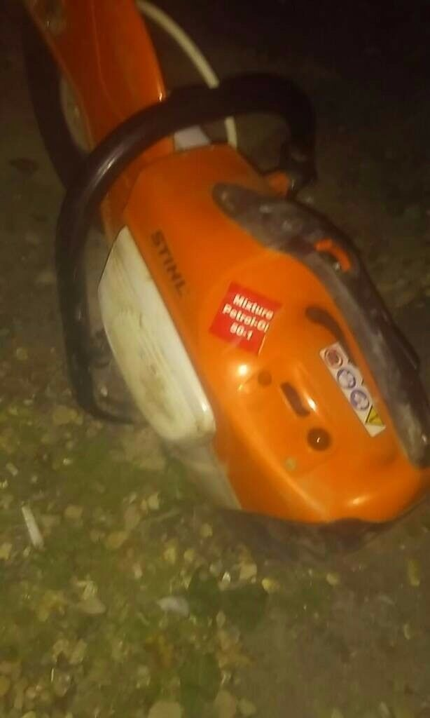 Stihl ts 410 petrol saw