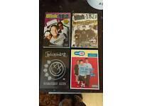 4 blink 182 dvds