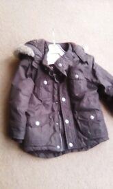 Boys age 3-4 winter coat