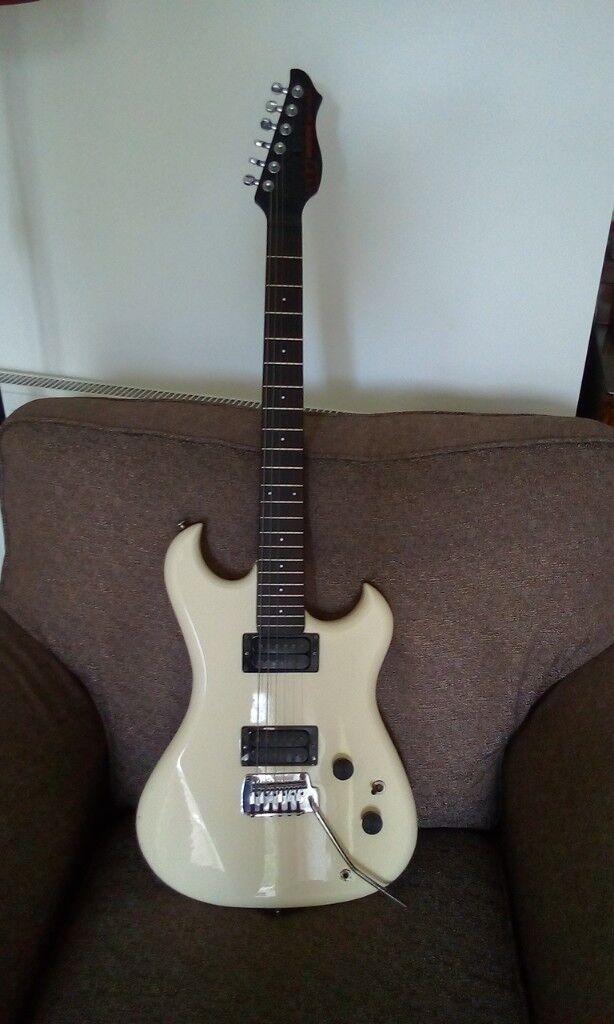 Retro 80's guitar..Weston's spectrum ST..