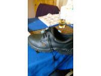 steel cap shoes