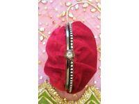 NEW BETH JORDAN Designer Luxury Red Velvet Satin & Diamante Bag Purse Small Clutch Bag Handbag PROM