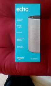 Brand New in box Amazon Echo (2nd gen) - Smart speaker with Alexa