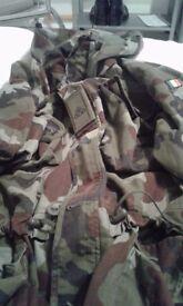 Camoflouge Jacket (Irish Army)