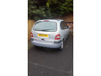 renaul megane scenic sale or swap for small engine car