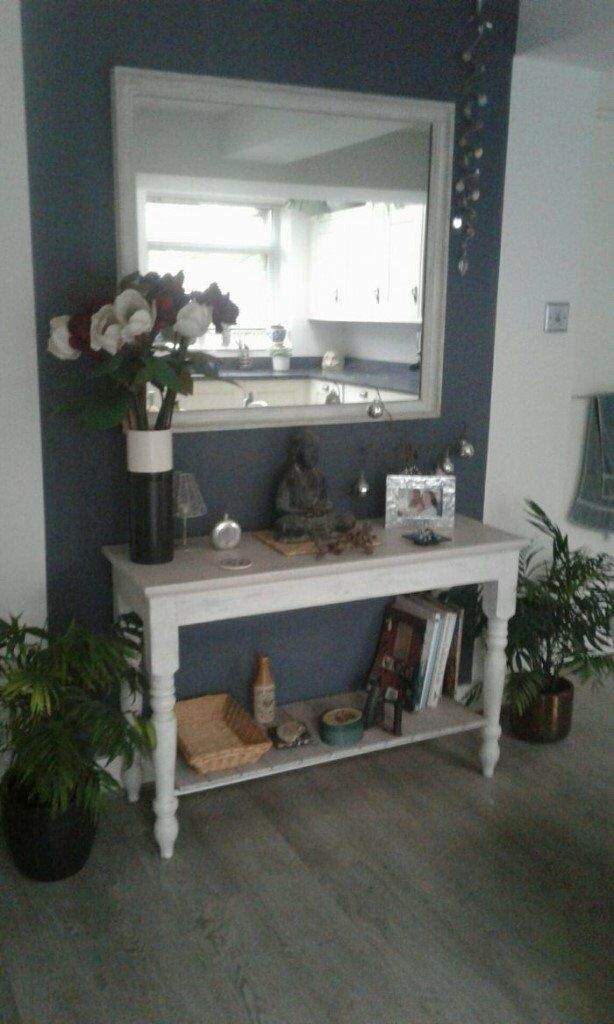 Buffet table and mirror. Two beautiful items which would grace any home!