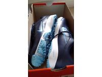 Nike zoom men golf shoes brand-new boxed UK size 10 midnight navy .