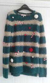 Next Ladies Knitwear Christmas Jumper
