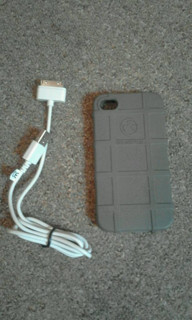 IPHONE 4/4S COVER AND CHARGERin Portslade, East SussexGumtree - Magpul cover and charger suitable for iphone 4 or 4s