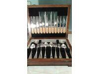 Vintage 1940s cutlery set