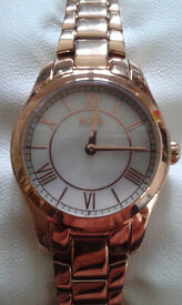 Boxed/Brand New Ladies Hugo Boss Rose-gold Wristwatch and Hugo Boss Jour Pour Femme Parfum Giftset
