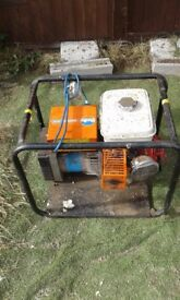 HONDA GENERATOR WELL USED 5HP ENGINE IS SWEET BUT INTERMITMENT FAULT