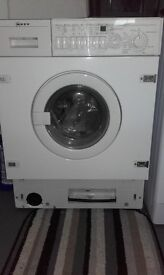 Nef intergrated waher /dryer