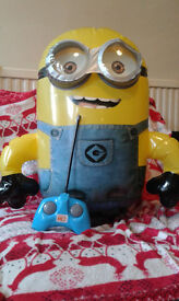 Remote Control Inflatable Minion Toy. Ideal Chrsitmas Present. (RRP £35!!)