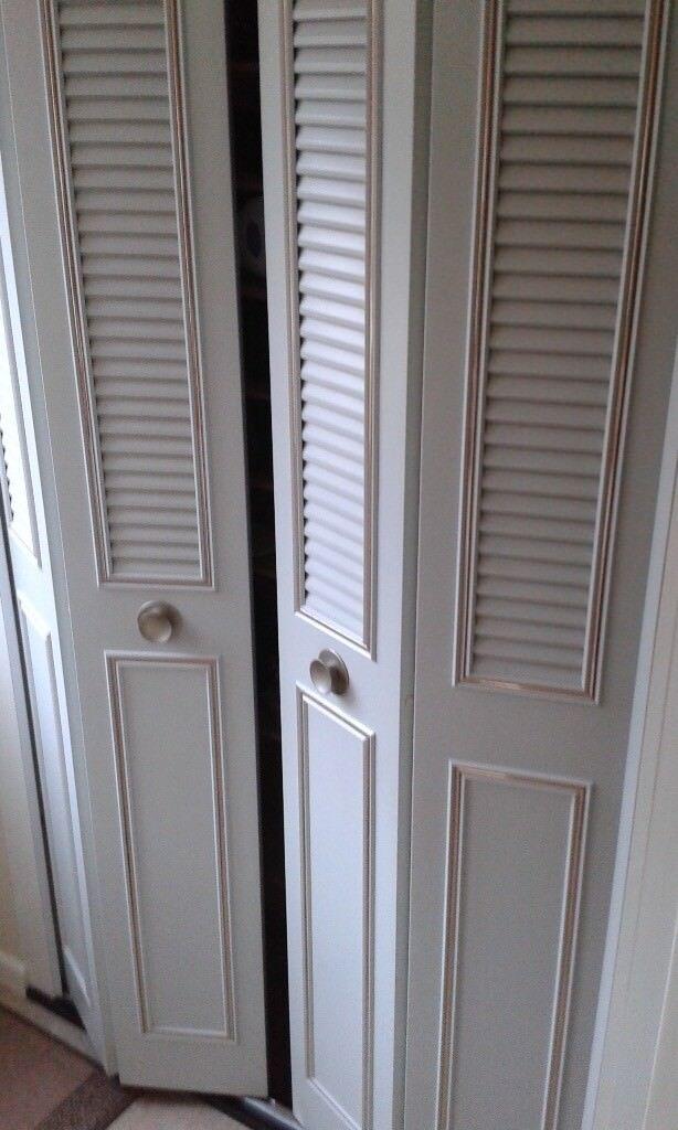 Metal bi-folding half louvre doors & Metal bi-folding half louvre doors | in Bradley Stoke Bristol | Gumtree