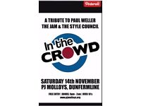 ****guitarist required for Weller Covers band****