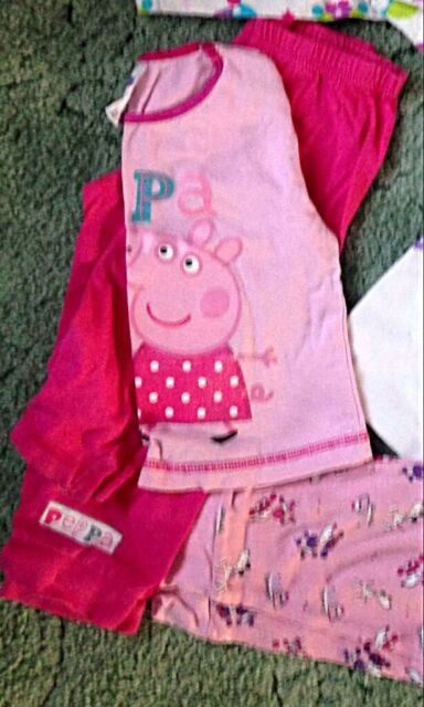 For Age 18 Months Girls Pyjamas X 4 Including A Peppa Pig Set In Downend Bristol Gumtree