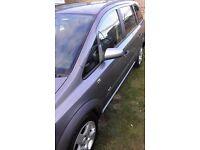Vauxhall Zafira 57 plate, 1.6 petrol, 7 seats
