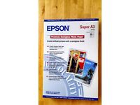 Epson Premium Semi-gloss photo paper - A3 plus (329 x 483 mm) - 20 sheet(s) x2