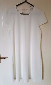 Brand New with Tags - River Island Cream Swing Dress Size 8