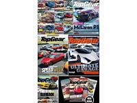 Top Gear Car Magazine Collection over 150 consecutive issues from number 1!!!!