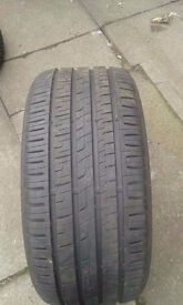245/40/17 quality part worn tyres