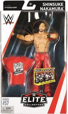 Shinsuke Nakamura WWE Mattel Elite Series 57 Brand New Action Figure Mint Packag