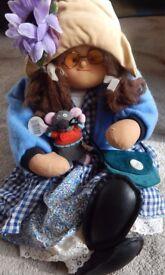 Hobo Designs Doll OOAK Dumplings