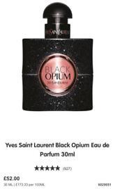 Brand new still in plastic wrap, ysl 30ml Black opium