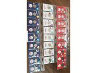 a-z 10p set royal mint packs