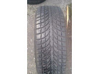 225/65/17 quality part worn tyres