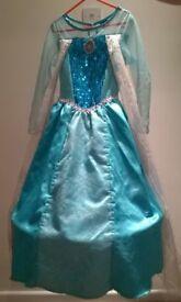 Disney Frozen - Elsa Dress – 6 to 7 year old