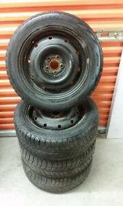(H167) Pneus Hiver - Winter Tires 205-55-16 Bridgestone