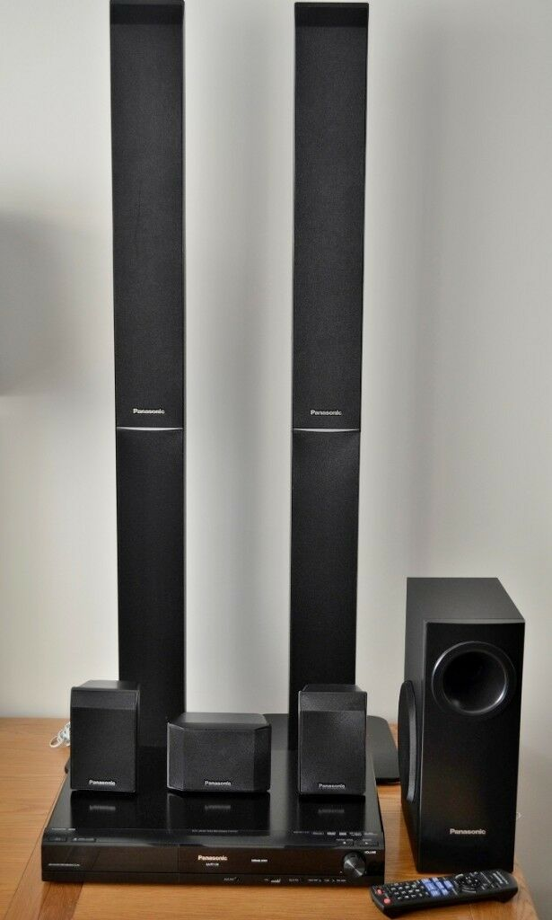 Panasonic Sa Pt 170 Dvd Home Cinema Sound System In Four