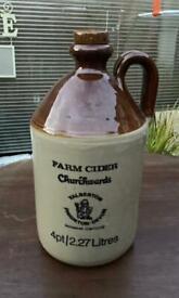 Vintage Moira Churchwards Farm Cider Jug
