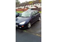 2001 focus zetec mot'd to june 2017 100100 miles