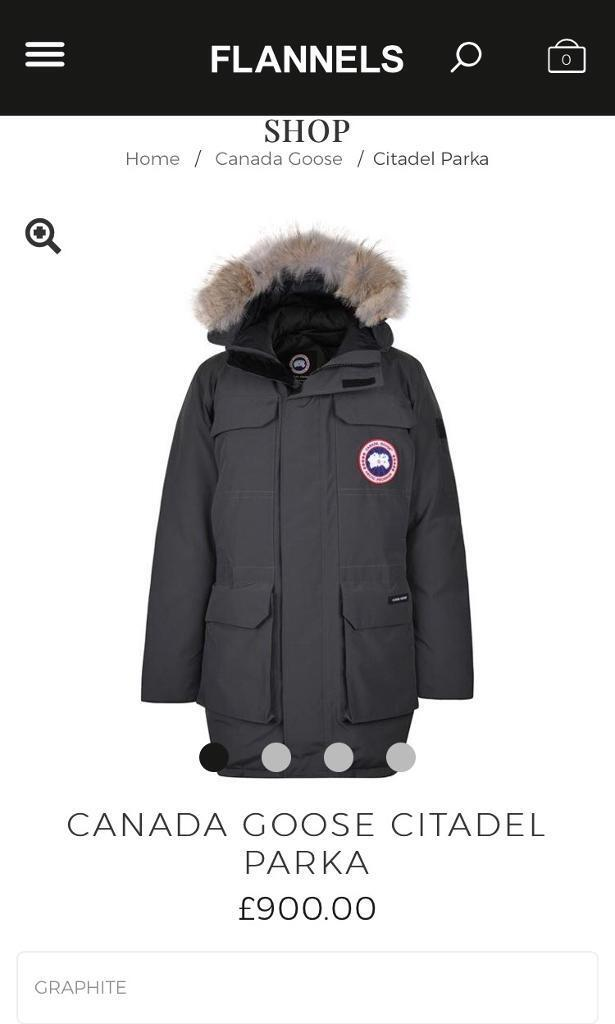 canada goose jacket flannels