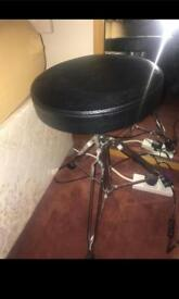 Drum Kit with Drum Pads and stool
